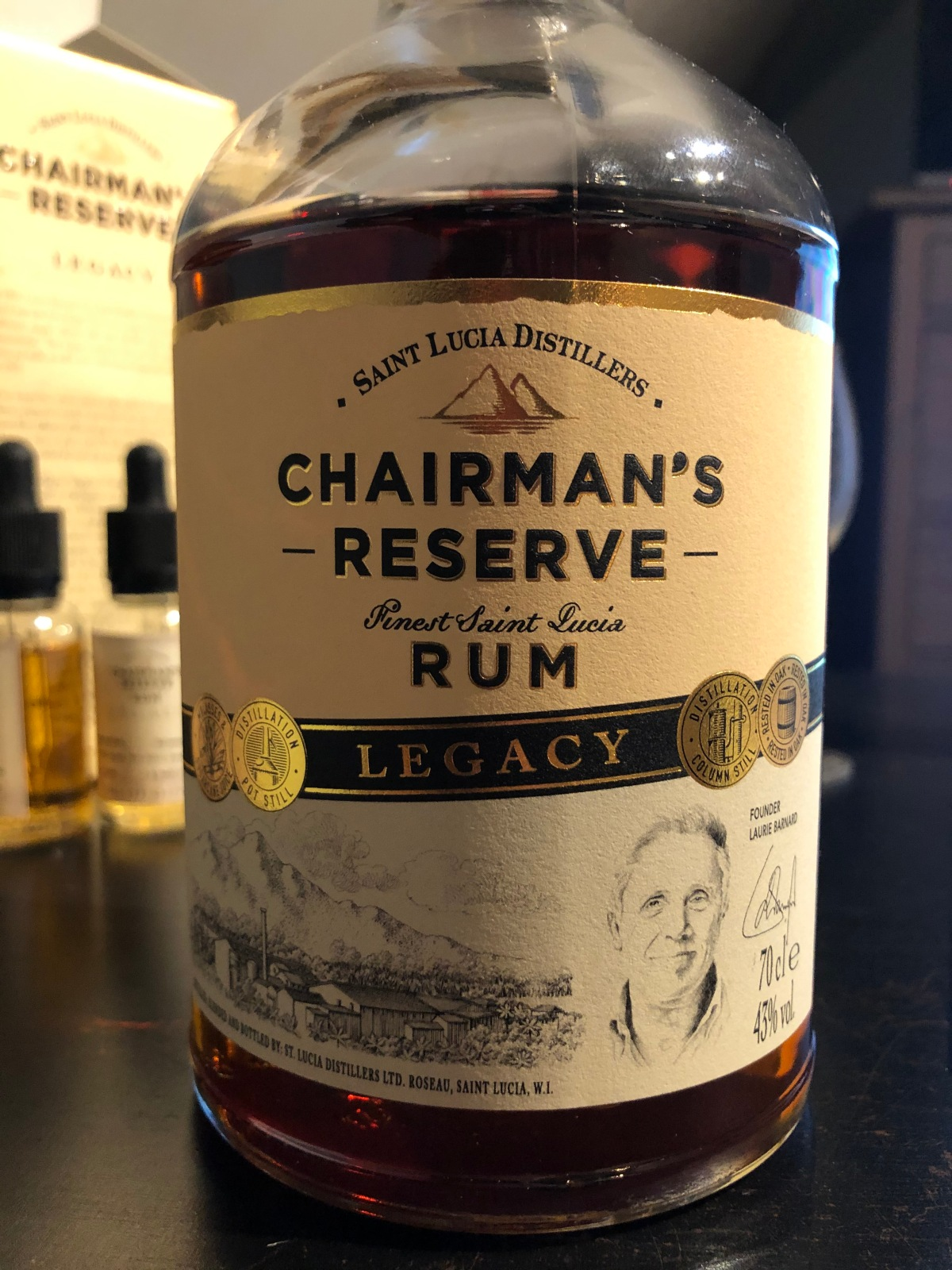Saint Lucia Distillers – Chairmans Reserve:Legacy